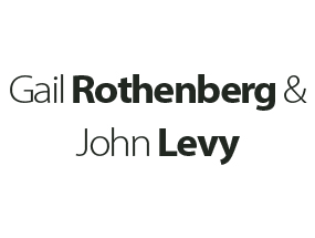 Gail Rothenberg and John Levy