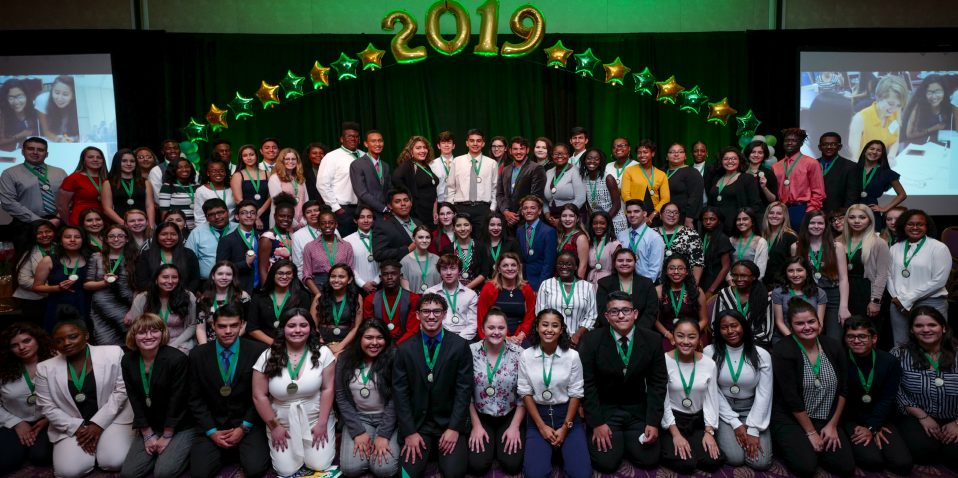 Champions For Learning students | Graduates at Countdown to Cap & Gown celebration