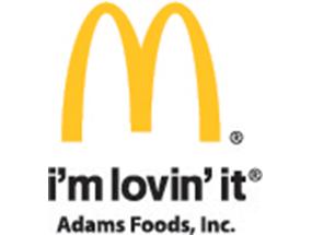 McDonalds-Adams Foods
