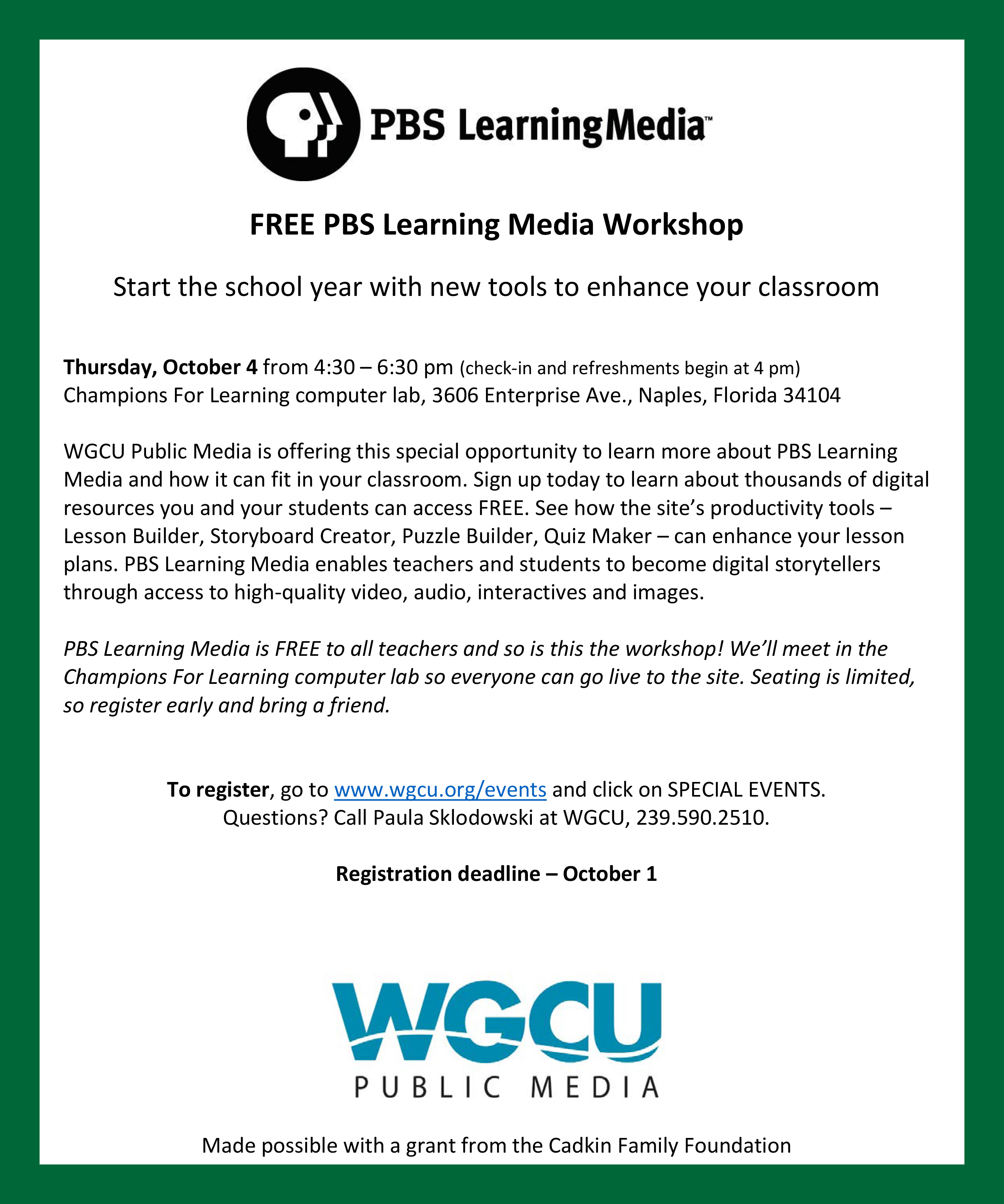Apply Now Champions For Learning Naples Florida