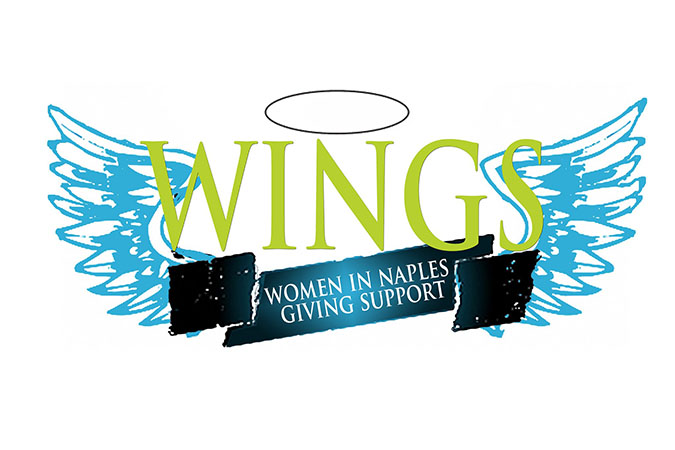 WINGS or Women-In-Naples-Giving-Support - Wings Logo