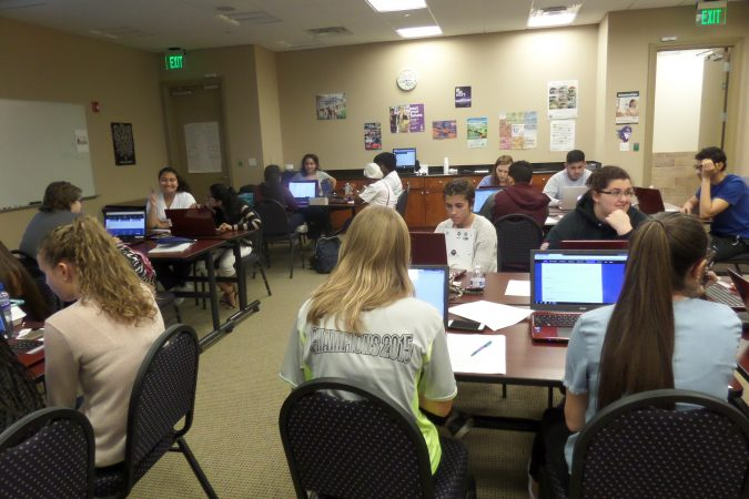 classroom full of students working - Champions for Learning - Naples, Florida