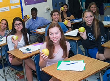 Golden Apple Students - Champions For Learning