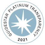GuideStar Platinum Transparency 2021 Logo