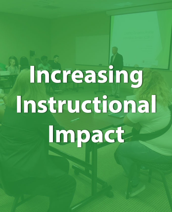 Increasing Instructional Impact | Champions for Learning