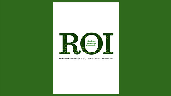 ROI Booklet | Champions for Learning