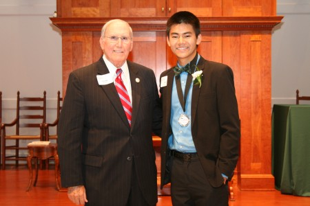 Senior Mentor of the Year: George M. Walters, Jr. - Champions For Learning - The Education Foundation of Collier County
