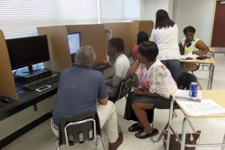 Students receive help with FASFA - - Champions For Learning - The Education Foundation of Collier County