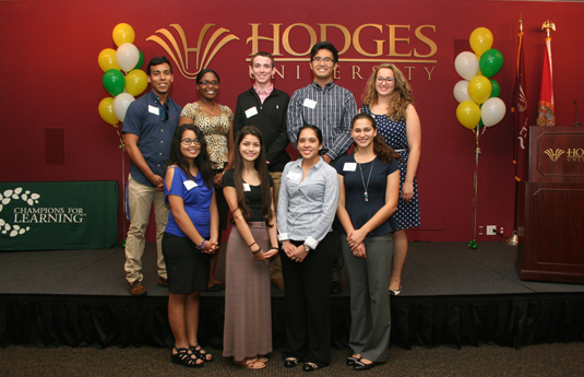 Students at hodges university - Champions For Learning