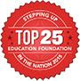 Champions for Learning - The Education Foundation of Collier County | Top 25 Badge